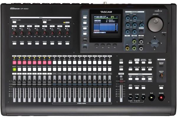 tascam 32 track portable multitrack recording station dj city. Black Bedroom Furniture Sets. Home Design Ideas