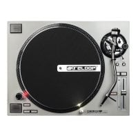 Reloop RP-7000 Silver DJ Turntable top