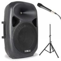 Vexus Audio SPS152 Active Speaker System package view