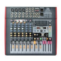 PDM-S803A Power Dynamics 8-Channel Powered Mixer front view