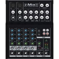 Mackie Mix8 PA Mixer top