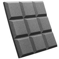 SGRID22CHA Auralex Acoustics Foam Grid Panel angke view