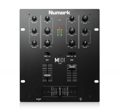 Numark M101USB DJ Mixer top