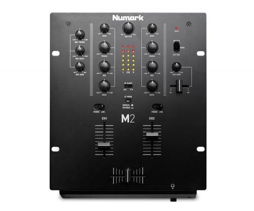 Numark M2 DJ Mixer top