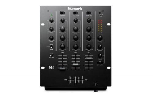 Numark M4 DJ Mixer top