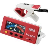 Korg Slimpitch Tuner and Contact Mic Red