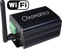 Chromateq LPSA-WiFi DMX Controller display