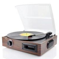 mBeat USB-TR08 Vinyl Turntable angle
