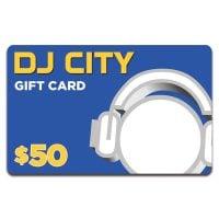 DJ City $50 Gift Card