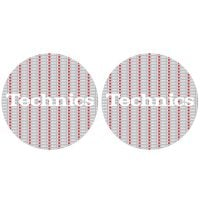 Technics 1200 Love Slipmat pair