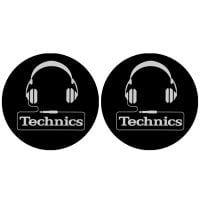 Technics Headphone Slipmat pair