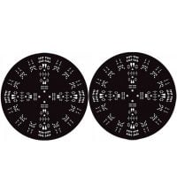 Technics Salawaku Limited Slipmat Pair