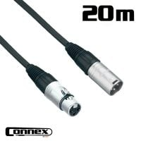 Connex XMXF-20 XLR male - XLR female 20m PRO cable view