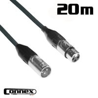 Connex XMXF-20B XLR male - XLR female 20m BASIC cable view
