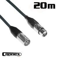 Connex XMXF-20B XLR male - XLR female 20m BASIC cable view