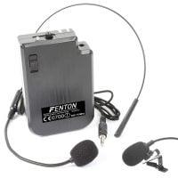 Fenton ST0MIC VHF Headset with lapel mic