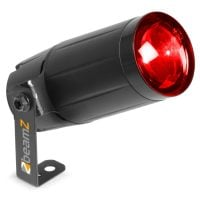 Beamz PS12W RGB LED Pinspot right angle