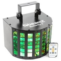 Beamz Butterfly-II LED Effect Light with IR remote