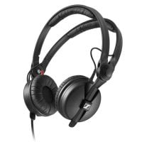 Sennheiser HD25-Plus DJ Headphones angle