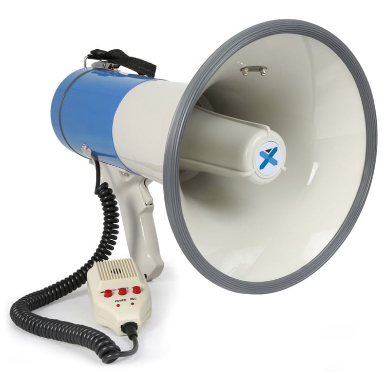 Vexus Meg055 Megaphone With Bluetooth 55w Dj City