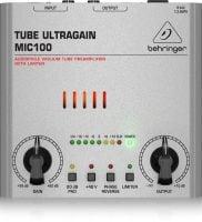 Behringer UltraGain MIC100 top
