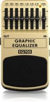 Behringer EQ700 EQ Pedal top
