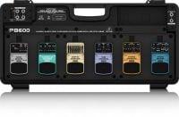 Behringer PB600 Pedal Board front