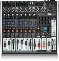 Behringer X1222USB PA Mixer top