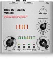 Behringer Ultragain MIC200 Preamp top