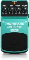 Behringer CS400 Compressor Pedal top