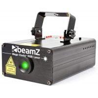 Beamz MegaCluster RGB Laser left angle
