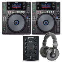 Gemini PK-MDJ1000 DJ Package