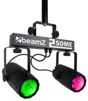 2-Some Beamz LED DJ Effect Light Duo Front Display