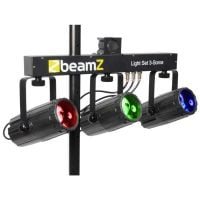 3Some Beamz LED DJ Effect Light Front View