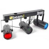 3Some-Laser Beamz LED DJ Light Effect with Laser Front Display