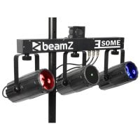 3Some-Laser Beamz LED DJ Light Effect with Laser Front View