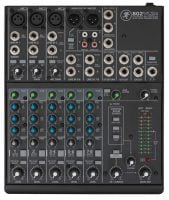 802VLZ4 Mackie PA Mixer Top View
