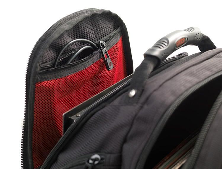 ortofon acc bag dj backpack black red dj city. Black Bedroom Furniture Sets. Home Design Ideas
