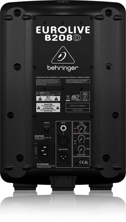 Behringer B208d 8 Quot Pa Powered Speaker 200w Dj City