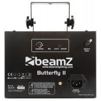 Beamz Butterfly-II LED Effect Light rear