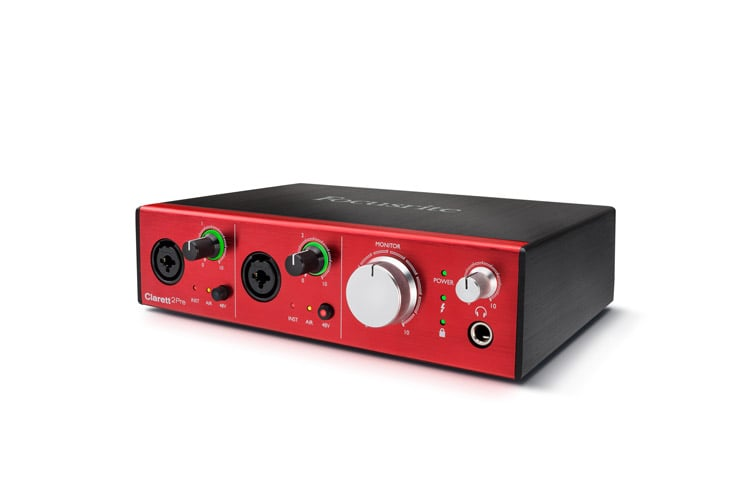how to use a focusrite interface with midi controller