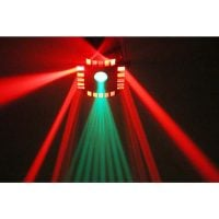 Cube4 Beamz LED DJ Effect Light Output 3