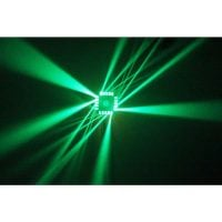 Cube4 Beamz LED DJ Effect Light Output 4