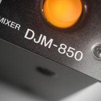 DJM850-K PIONEER DJ MIXER logo