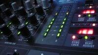 DJX750 Behringer DJ Mixer close