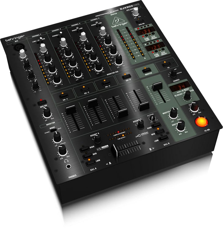 behringer djx900usb dj mixer 4 channel dj city. Black Bedroom Furniture Sets. Home Design Ideas