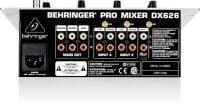 Behringer DX626 DJ Mixer rear