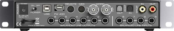 Fireface UCX RME Audio Interface Display