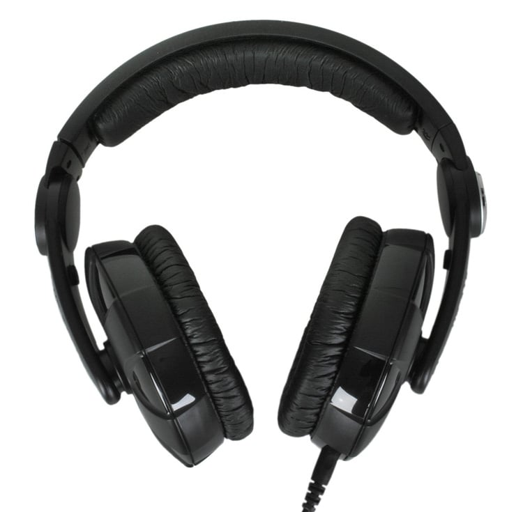HD-215II Sennheiser DJ Headphones with Rotatable Ear Cup ...