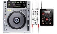 iRig-Mix IK Multimedia Ultra Compact DJ Mixer for iDevices and Android use with Cdjs